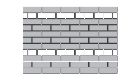 drawing of bricks